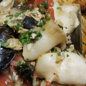 Pasta, Seafood & Eggplant Dishes